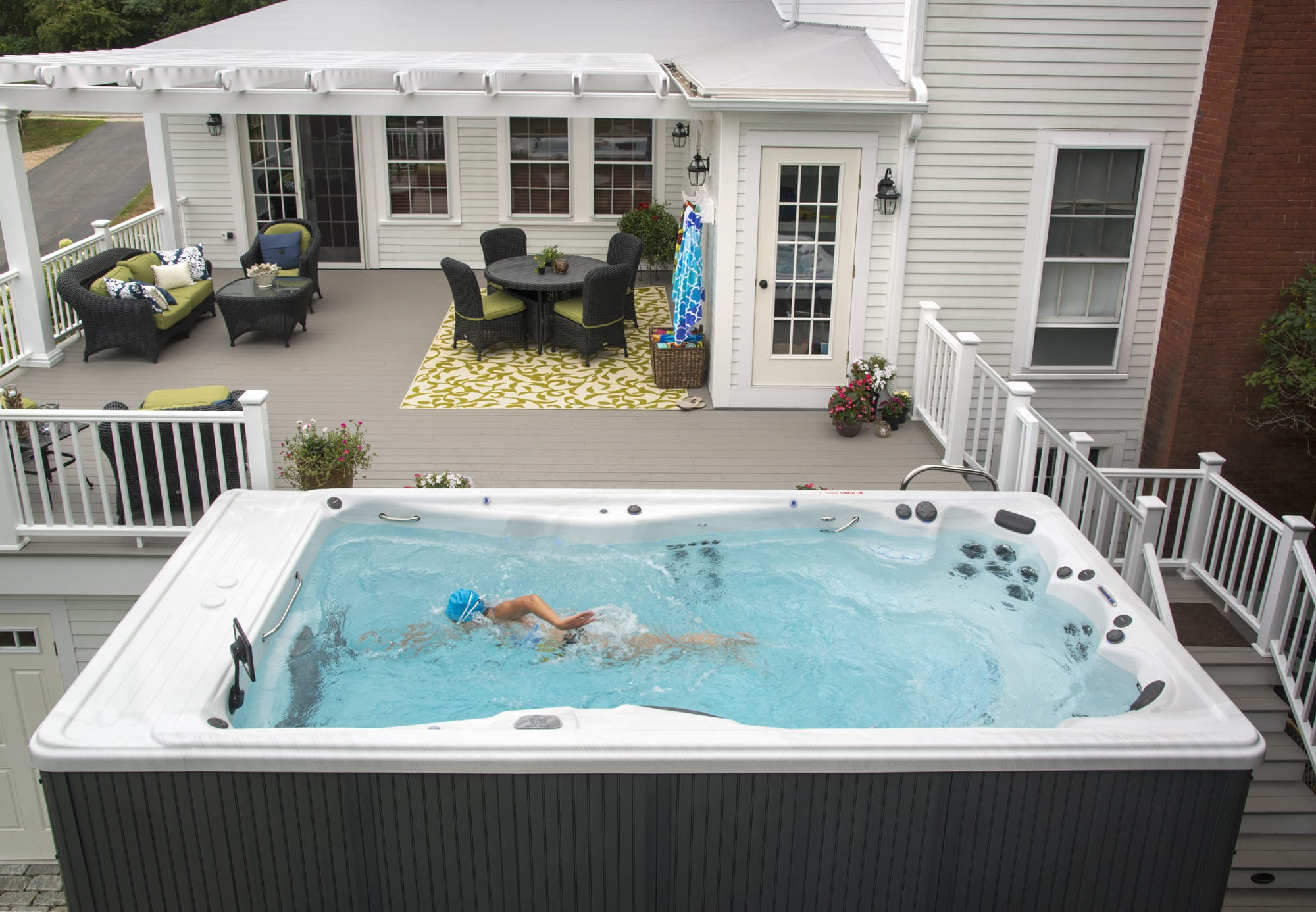 MP Swim Spas Lifestyle